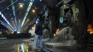 Sun Coverage: Sparrows Point Steel Mill