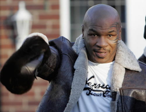 Former world heavyweight boxing champion Mike Tyson bought a mansion in Farmington for $2.8 million in 1996. He tried to sell it for $22 million, then lost it in a divorce settlement. Tyson's boxing career spanned from 1985 until 2005. The mansion was later owned by rapper 50 Cent.