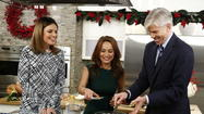 (l-r) Savannah Guthrie, Giada de Laurentiis and David Gregory appear on NBC News' 'Today' show