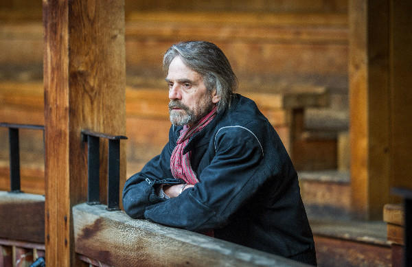 "Actor Jeremy Irons in a scene from the PBS series ""Shakespeare Uncovered,"" which begins airing Friday."
