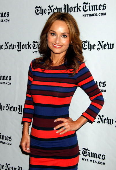 Giada De Laurentiis attends TimesTalks: A Conversation With Giada De Laurentiis And Bobby Flay at The Times Center on October 13, 2012 in New York City.