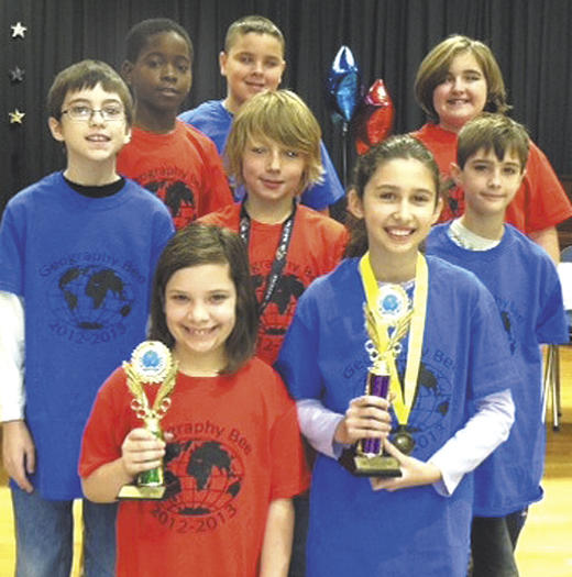 Salem Avenue Elementary School geography bee