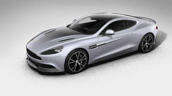 Aston Martin's new Centenary Edition Vanquish