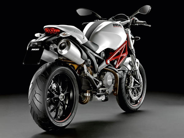 Ducati continues charging the naked sport bike market with its 2013 Monster 796.