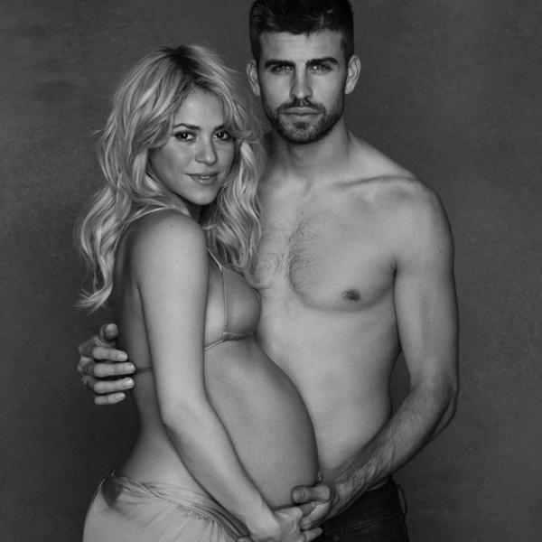 Shakira and Gerard Piqué are now parents to Milan Piqué Mebarak.