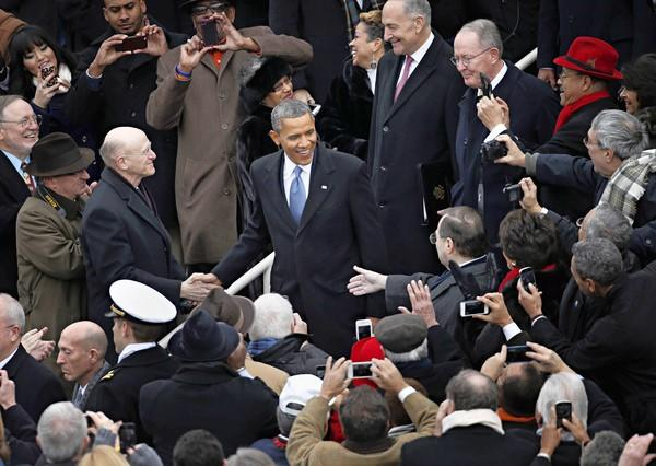 In his final inaugural address, President Barack Obama seemed to know his clock is running out. A second-term president has only a few months to establish his legacy before the congressional campaigns kick in.