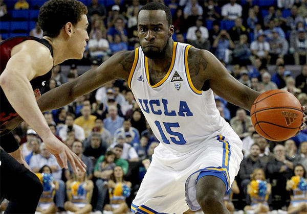 UCLA's Shabazz Muhammad is averaging 17.9 points.