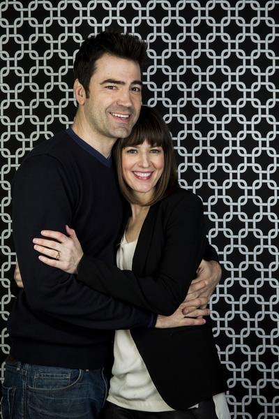 "Ron Livingston and Rosemarie DeWitt from the film ""Touchy Feely."""