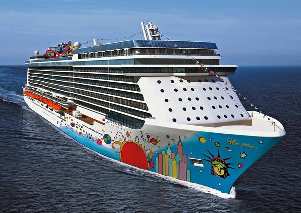 The 4,028-passenger Norwegian Breakaway will debut April 28 on a cruise from Rotterdam, Netherlands, to Southampton, England. Though large, it is no threat to the crown of world's largest, which belongs to Royal Caribbean's 6,000-plus-passenger Allure of the Seas.