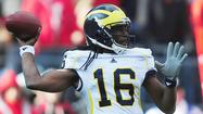 "<span class=""inhed"">Senior Bowl video:</span> Deerfield's Denard Robinson has tough time"