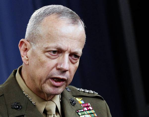 Marine Gen. John R. Allen in May.