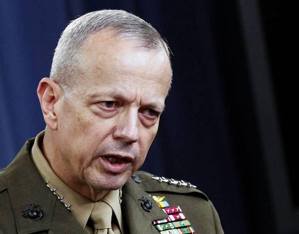 Marine Gen. John R. Allen in May.