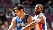 <b>Pictures:</b> Orlando Magic at Detroit Pistons