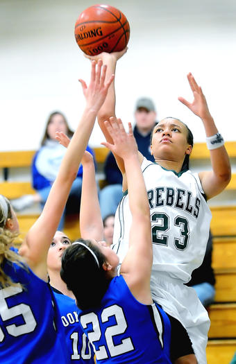 Boonsboro-South Hagerstown girls basketball