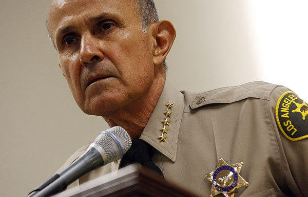 Los Angeles County supervisors say Sheriff Lee Baca's suspension of overtime for deputies is jeopardizing public safey.