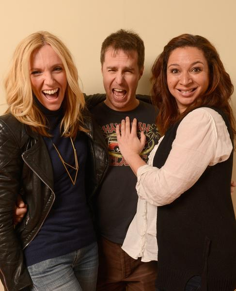 """The Way, Way Back"" actors Toni Collette, left, Sam Rockwell and Maya Rudolph."