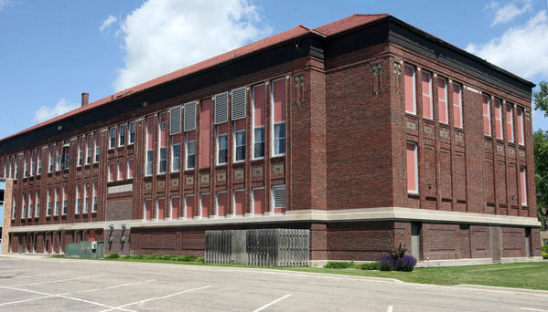 Additional parking for the Roosevelt building, part of the old Central High School complex, is being considered.
