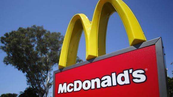 McDonald's beat saw same-store sales growth in the fourth-quarter, beating analyst expectations.