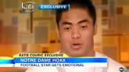 Manti Te'o talks to Katie Couric about girlfriend hoax