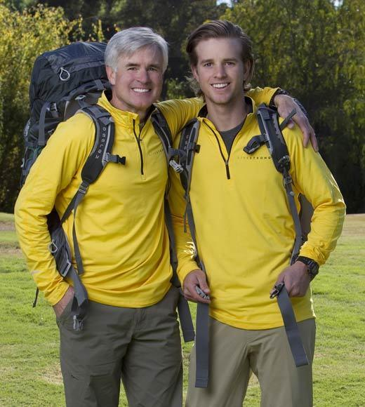 'The Amazing Race' Season 22 cast: Name: David O�Leary Age: 58 Hometown: Salt Lake City Current occupation: Investment Properties  Name: Connor O�Leary Age: 21 Hometown: Salt Lake City Current occupation: Professional Cyclist Connection: Father/Son (both Cancer Survivors)