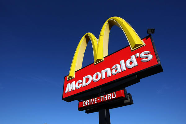 McDonald's beat analyst expectations for its fourth-quarter earnings but still faces weakness.