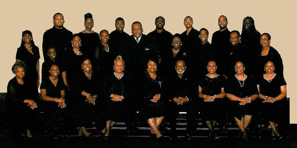The choir of the Richmond Virginia Chapter of the Gospel Music Workshop of America is set to perform in Hampton Jan. 26, 2013.