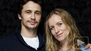 PARK CITY, UTAH -- James Franco is never shy about pushing a few buttons with his filmmaking, and at this year's Sundance Film Festival, he has his thumb exactly where you'd expect.