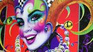 The Orange County Regional History Center will celebrate the opening of its Universal Orlando-oriented exhibit with an appearance by artist Andrea Mistretta, known for her series of colorful Mardi Gras posters, on Saturday.