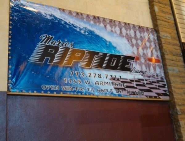 The exterior of Marie's Riptide