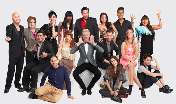 (Back to Front) Project Runway returns for Season 11 with 16 all-new designers, including, Richard Hallmarq, Cindy Marlatt, Michelle Lesniak Franklin, Samantha Black, Daniel Esquivel, Layana Aguilar, Stanley Hudson, Patricia Michaels, James Martinez, Katelyn Pankoke, Benjamin Mach, Mat Arthur, Amanda Valentine, Joseph Segal, Emily Pollard and Tu Nakchat, premiering Thursday, January 24, at 9pm ET/PT on Lifetime.