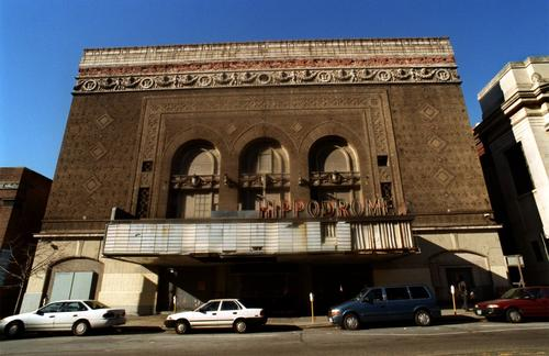 In 2001, the once-magnificent Hippodrome, which opened as a vaudeville house in 1914, was an abandoned and decaying shell.
