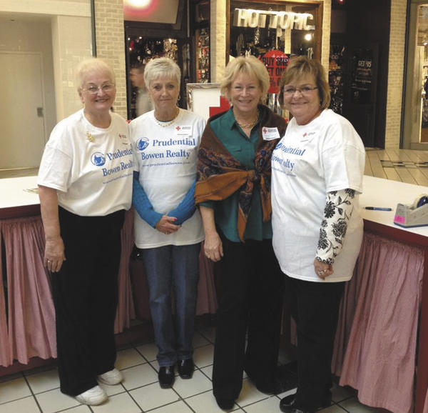 Pictured from left are Sharon Cooper, Paula Raley, Connie Manger and Kitty Chamos.