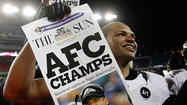 With the national spotlight shining on the Super Bowl-bound Ravens this week, linebacker Brendon Ayanbadejo is apparently hoping to divert some attention off the gridiron.