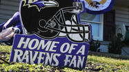Your photos: Ravens decorations - yard decor, purple rooms and more
