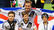David Beckham may not be returning to the English Premier League, but that doesn't mean the league has seen the last of his family.