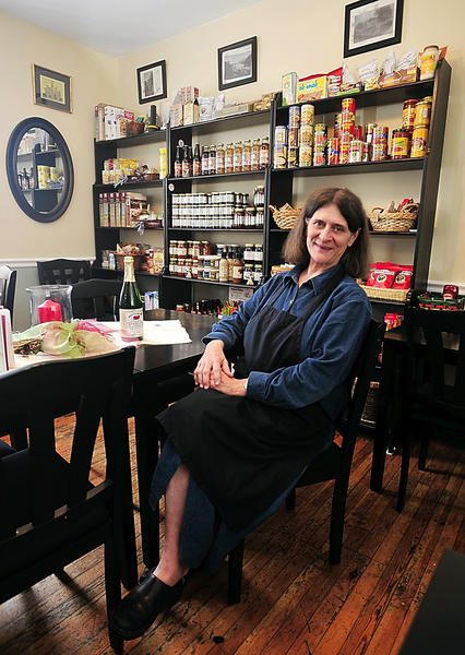 Karan Townsend opened The Town's Inn Sundry/Snack/Supply Shoppe on Sept. 3 at 179 High St. in Harpers Ferry, W.Va.