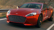 Aston Martin's largest child got a bit more go Tuesday, as the company announced the arrival of the Rapide S. The car joins the new Vanquish, the revised DB9, and the Vantage in celebrating Aston's 100th birthday in 2013.