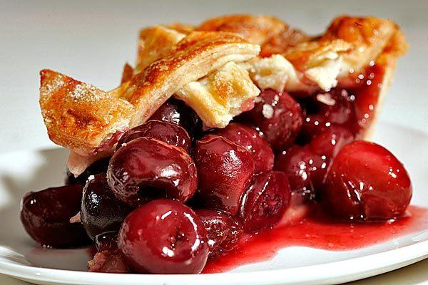Celebrate National Pie Day with a slice of sweet cherry.