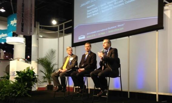 Economists David Crowe, Frank Nothaft and David Berson weigh in on the outlook for housing at the International Builders' Show in Las Vegas.