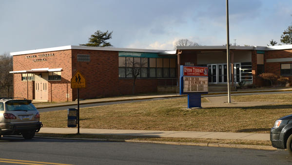 Exterior of Union Terrace Elementary School in Allentown on Wednesday.