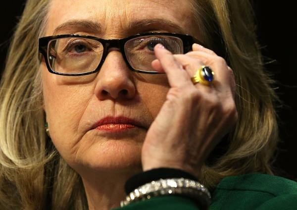 Secretary of State Hillary Rodham Clinton testifies before the Senate Foreign Relations Committee on Wednesday.