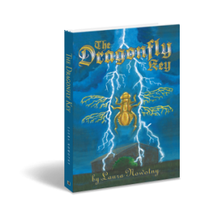 "Debut author's preteen fantasy ""The Dragonfly Key"""