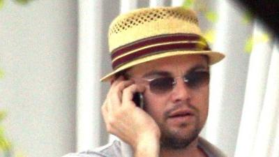 Leonardo DiCaprio spotted 'Unchained' in  Miami