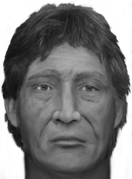 Davie Police hope to identify the skeletal remains of a man with a composite sketch of what he may have looked like