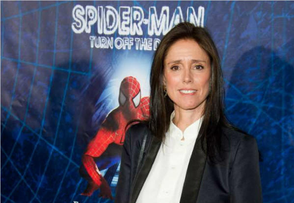 "Julie Taymor, at the opening-night performance of the Broadway musical ""Spider-Man: Turn Off the Dark"" in New York in 2011."