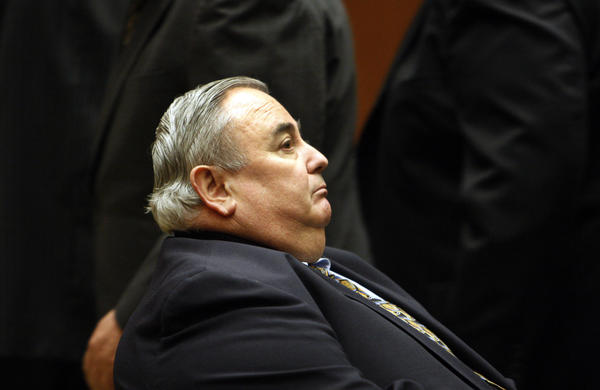 Former Bell City Administrator Robert Rizzo in court.