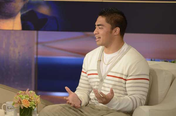 "Manti Te'o will be a guest on ""Katie"""