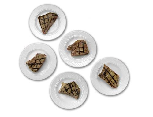 This is 5 portions, each consisting of 2 servings. The number of protein servings you should eat per day can range from 3 to 7 based on your total caloric intake.
