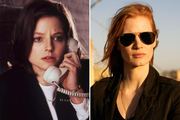 "The obvious comparison would be to 2010's winning ""The Hurt Locker,"" from writer to director to the scorched-earth suffering in its plot. Taking it to an even darker realm, we could also go with ""The Silence of the Lambs"" from 1991. Each movie centers on a strong-yet-vulnerable female lead, hunting down her foe with unearthly determination."