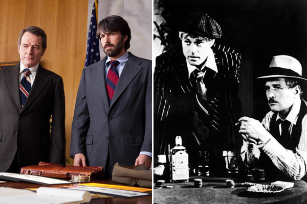 "Sometimes it takes a light touch to hit on heavy topics. With its deft interweaving of the droll and the deadly serious, using a con to end all cons, ""Argo"" calls up fond memories of 1973's ""The Sting."" For good measure, we'll throw in ""One Day in September"" (1999), a documentary Oscar winner about the Munich massacre. Each film looks at a hostage situation that shook the 1970s, diving deep into the story behind the headlines."